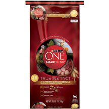 Purina ONE SmartBlend Dry Dog Food True Instinct with Real Turkey and Venison