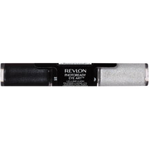 Revlon Photoready Eye Art Shadowith Sparkle Duo 030 Black Brilliance
