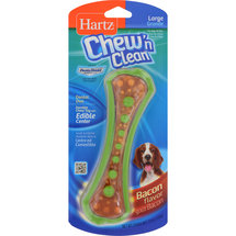 Hartz Chew-N-Clean with Dentashield Dental Duo Toy Large