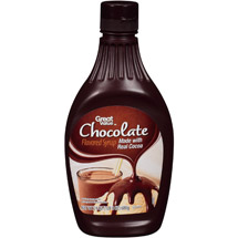 Great Value Chocolate Flavored Syrup