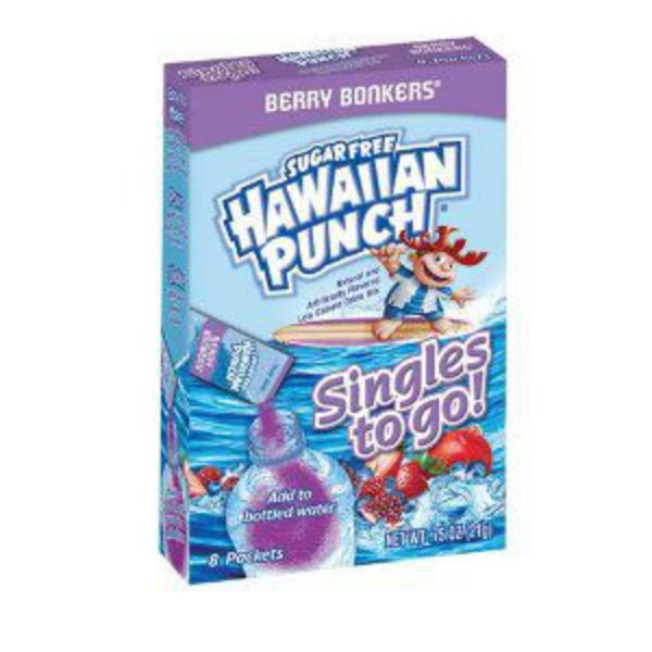Hawaiian Punch Singles To Go! Go Berry Bonkers Drink Mix
