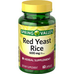Spring Valley Red Yeast Rice Capsules