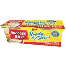Success Long Grain White Rice Ready to Serve 4.4 oz Rice