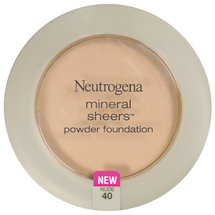 Neutrogena Mineral Sheers Compact Powder Foundation SPF 20 Nude 40