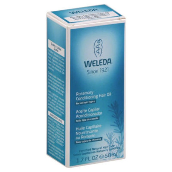Weleda Rosemary Conditioning Hair Oil for All Hair Types