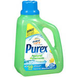 Purex Natural Elements Linen & Lilies Liquid Laundry Detergent