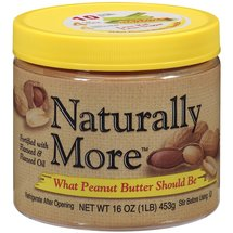 Naturally More Peanut Butter Naturally More