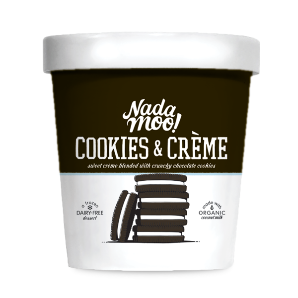 Nadamoo! Cookies & Creme Ice Cream