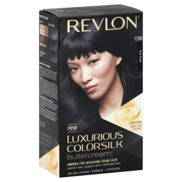 Luxurious Colorsilk Permanent Haircolor, Blue Black 12BB