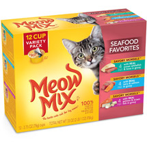 Meow Mix Variety Pk 2.75 Oz Wet Cat Food Market Select