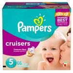 Pampers Cruisers Diapers Size 5 Super Pack