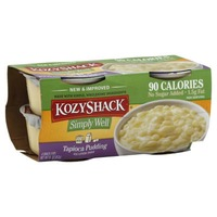 KozyShack Simply Well Tapioca Pudding