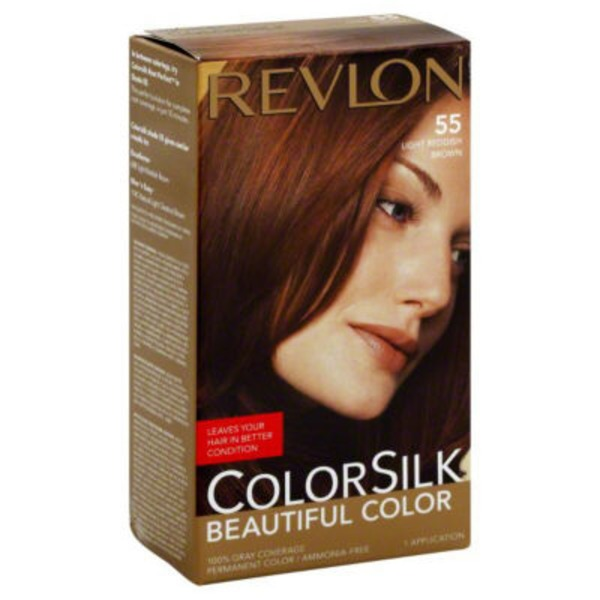 Colorsilk Light Reddish Brown Permanent Color
