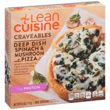 Stouffer's Lean Cuisine Casual Eating Classics Spinach And Mushroom Deep Dish Pizza