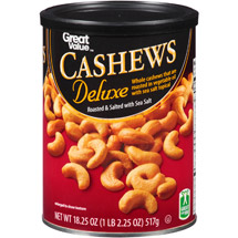 Great Value Whole Cashews
