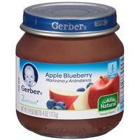 Gerber 2 Nd Foods Apple Blueberry Baby Food