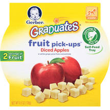 Gerber Graduates Fruit & Veggie Pick-Ups Diced Apples