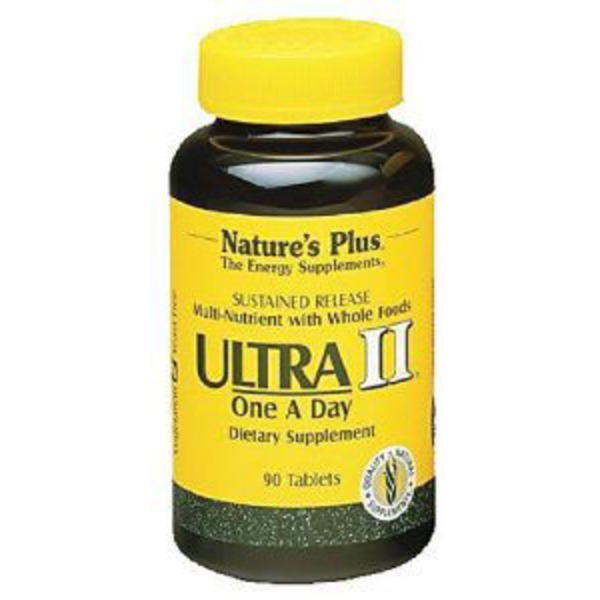 Nature's Plus Ultra II Sustained Release Multivitamins with  Iron