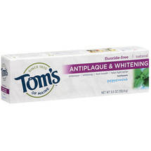 Toms of Maine Antiplaque & Whitening Peppermint Toothpaste