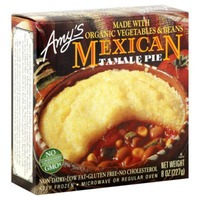 Amy's Dairy & Gluten Free Frozen Mexican Tamale Pie
