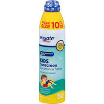 Equate Kids Sunscreen Continuous Spray SPF