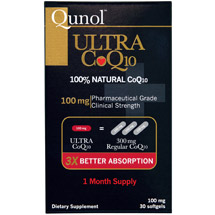 Qunol Ultra CoQ10 M mg Softgels Dietary Supplement