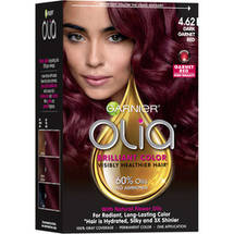 Garnier Olia Oil Powered Permanent Hair Color 4.62 Dark Garnet Red