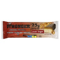 NuGo Protein Bar, Lower Sugar, Caramel Pretzel
