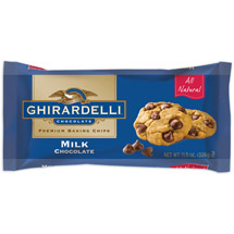 Ghirardelli Chocolate Milk Chocolate Baking Chips