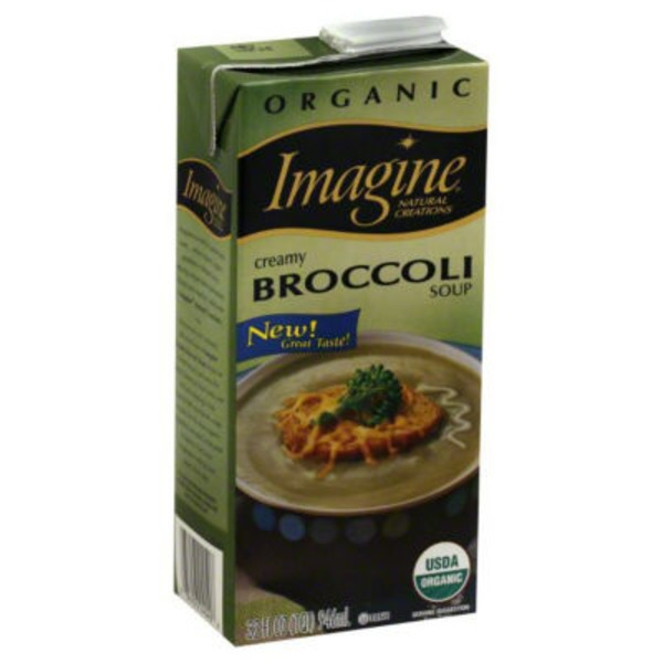 Imagine Foods Organic Broccoli Creamy Soup