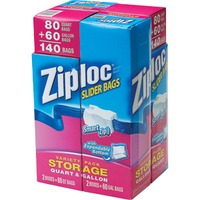 Ziploc Smart Zip Variety Pack Slider Bags