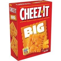Cheez-It BIG Original Baked Snack Crackers
