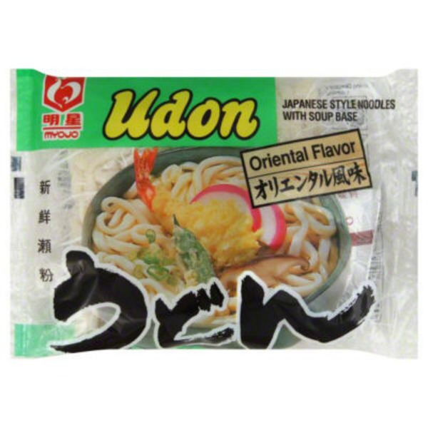 Myojo Udon Japanese Style Noodles with Soup Base Oriental Flavor