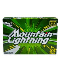 Great Value Mountain Lightning Citrus Soda