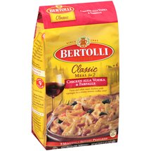 Bertolli Classic Meal for 2 Chicken Alla Vodka & Farfalle