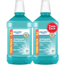 Equate Blue Mint Antiseptic Mouthrinse