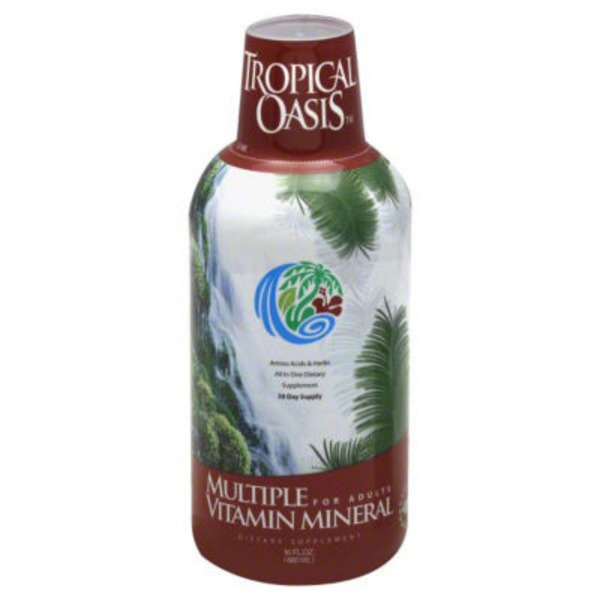 Tropical Oasis Multiple Vitamin Mineral for Adults