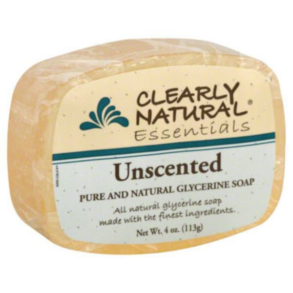Clearly Natural Essentials Clearly Natural Glycerine Soap Unscented