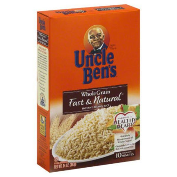 Uncle Ben's Natural Whole Grain Instant Brown Rice