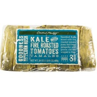 Central Market Kale With Fire Roasted Tomatoes Tamales