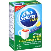Alka-Seltzer Plus Night Severe Cold Cough & Flu Packets