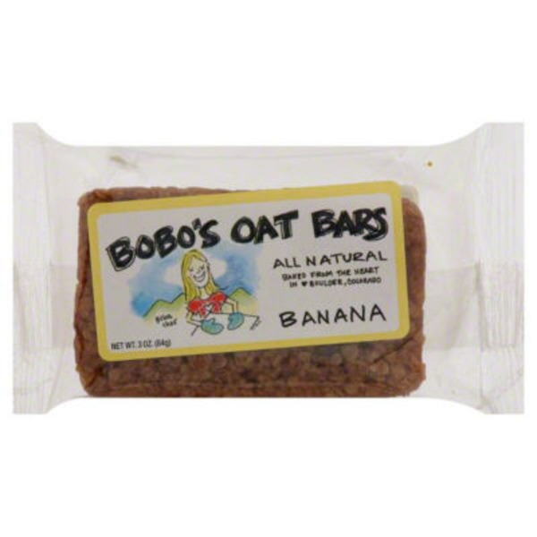 Bobo's Banana Oat Bars