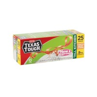 H-E-B Texas Tough Tall Kitchen Stretch Draw String Bags