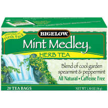 Bigelow Caffeine Free Mint Medley Herbal Tea Bags