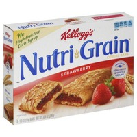 Kellogg's Nutri-Grain Soft Baked Strawberry Breakfast Bars