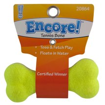 Encore Small Tennis Bone Dog Toy