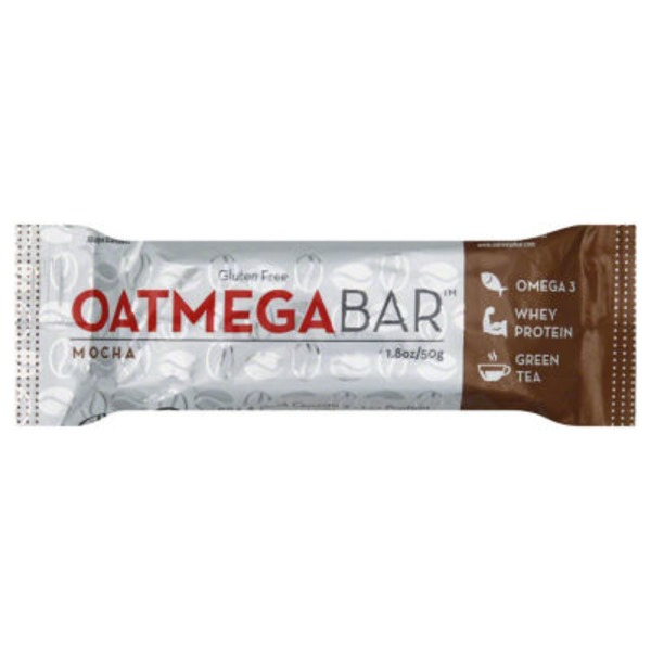 Oatmega Grass-Fed Whey Bars Brownie Crisp
