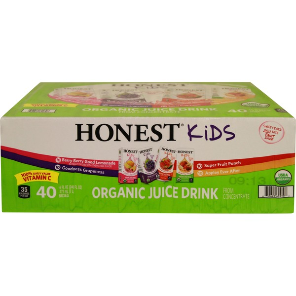 Honest Kids Organic Variety Juice Pack