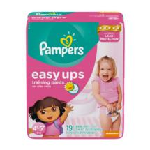 Pampers Easy Ups Girls 4T-5T