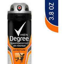 Degree Men Motionsense Dry Spray Adventure Antiperspirant